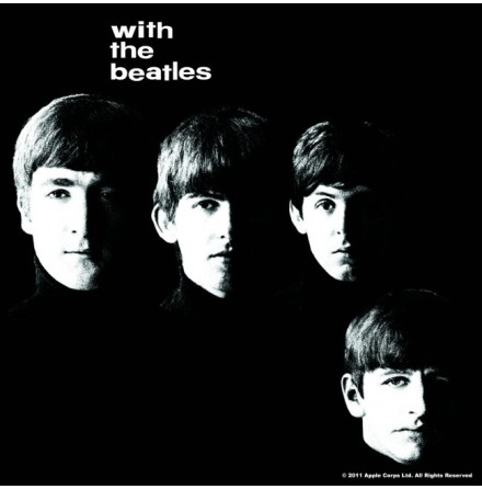 Beatles - With The Beatles - Single Coaster