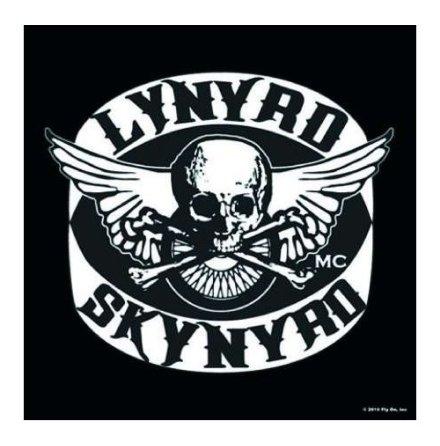 Lynyrd Skynyrd - Coaster - Biker Patch
