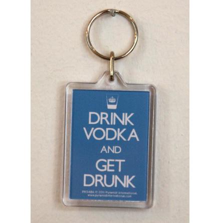 Drink Vodka - Nyckelring