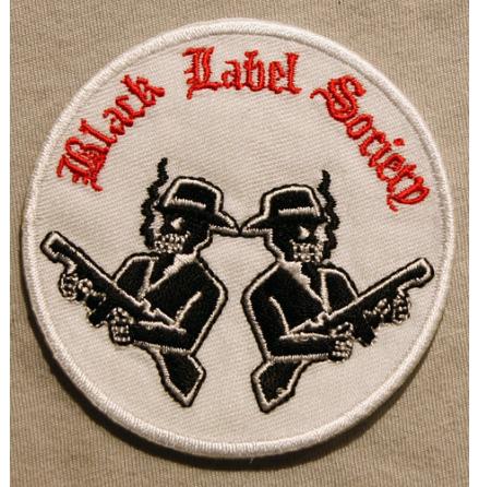 Black Label - Society Mafia - Tygmärke