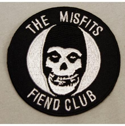 Misfits - Fiend Club - Tygmärke