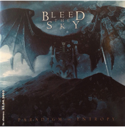 Bleed The Sky - Klistermärke