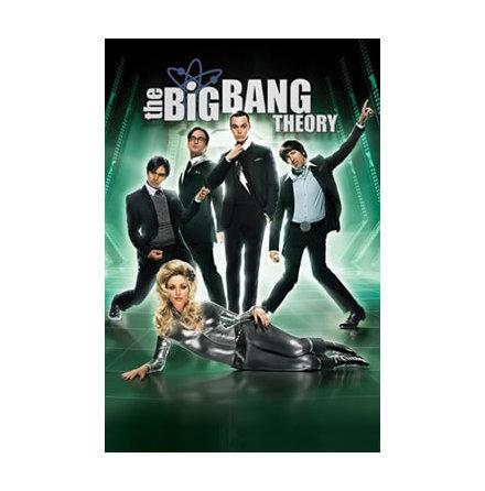 The Big Bang Theory - Barbarella - Poster