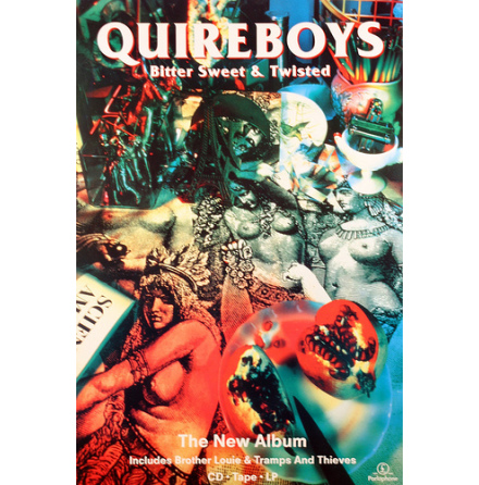 Quireboys - Bitter Sweet - Poster