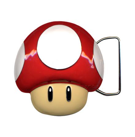Belt Buckle - Mushroom