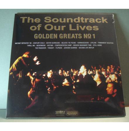 LP Soundtrack Of Our Lives - Golden Greats No1 - Guldvinyl