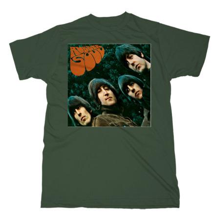 T-Shirt - Rubber Soul Grön